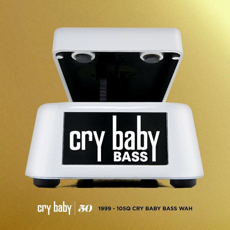 THE EVOLUTION OF THE CRYBABY WAH: Cry Baby 105Q Bass Wah - 1999 The first wah pedal designed by bass players for bass players the Cry Baby 105Q Bass Wah only applies the effect to the mids and highs so you can keep holding down the low end. With auto-return switching you can step in and out of the effect for solos and fills with ease.  Head to our blog to learn about the evolution of the Cry Baby Wah. Link in bio.  #105Q #crybaby50 #crybabywah  #jimdunlopusa #performanceiseverything