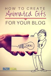 How To Create Animated GIFs for your Blog- @razorsocial (scheduled via http://www.tailwindapp.com?utm_source=pinterest&utm_medium=twpin&utm_content=post596365&utm_campaign=scheduler_attribution)