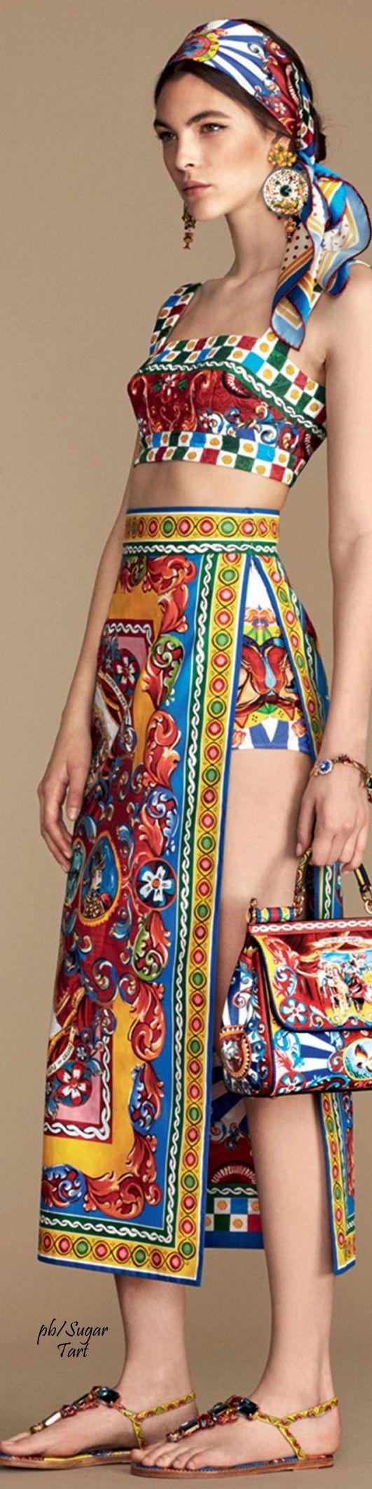 Dolce & Gabbana Summer 2016                                                                                                                                                      More