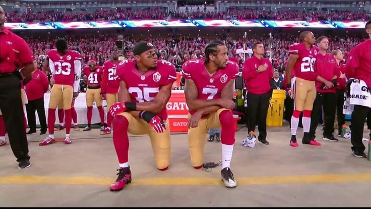 Spike Lee promoting rally for former 49ers quarterback Colin Kaepernick.