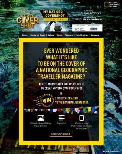 The Best Social Media Campaigns of 2014 National Geography #mynatgeocover