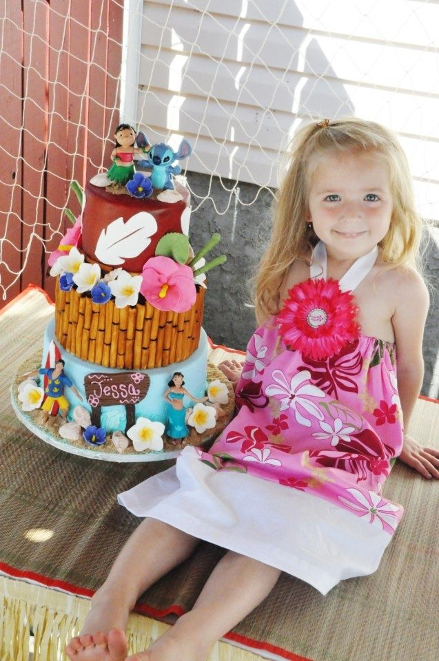 Lilo And Stitch Cake Ideas And Designs