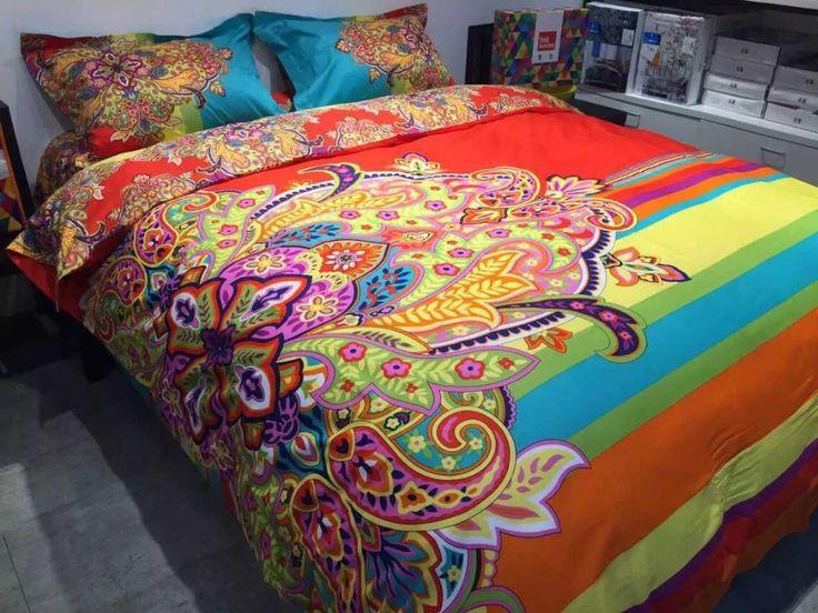 Bohemia-BOHO-diseñador-de-colores-juego-de-conjunto-Conforter-4-unid-brillante-juegos-de-edredones-de.jpg (1000×750)