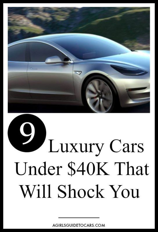 Ballin' on a Budget: 9 of the Best Luxury Cars Under $40k – A Girl's Guide to Cars