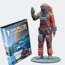 Purchase a bundle of 3D printed Red Astronaut (3 inch size, MSRP $19.95 + s&h) and Space Engineers Steam key (MSRP $24.99) for only $24.95. Order here: http://www.spaceengineersprints.com/collections/frontpage/products/space-engineers-prints-3-inch-red-astronaut-space-engineers-game