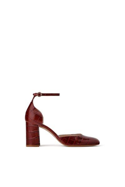 Mujer Zara Shops Zapato Destalonado Timeless Corner Charol
