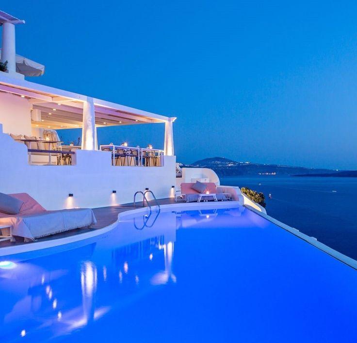 hotel de lujo katikies en santorini grecia verano vacaciones summer vacation