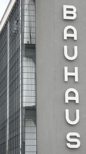 Bauhaus Dessau | Architecture. Architektur | Design made in Germany: Walter Gropius |
