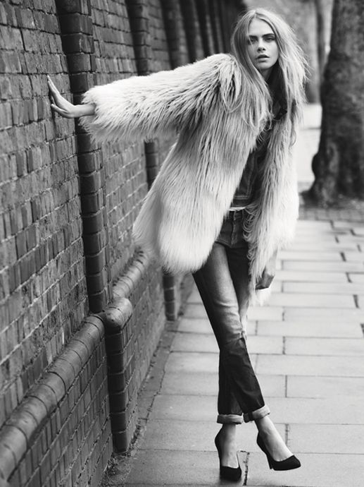 Cara Delevingne Gets Casual for Pepe Jeans Fall 2013 Campaign | Fashion Gone Rogue: The Latest in Editorials and Campaigns