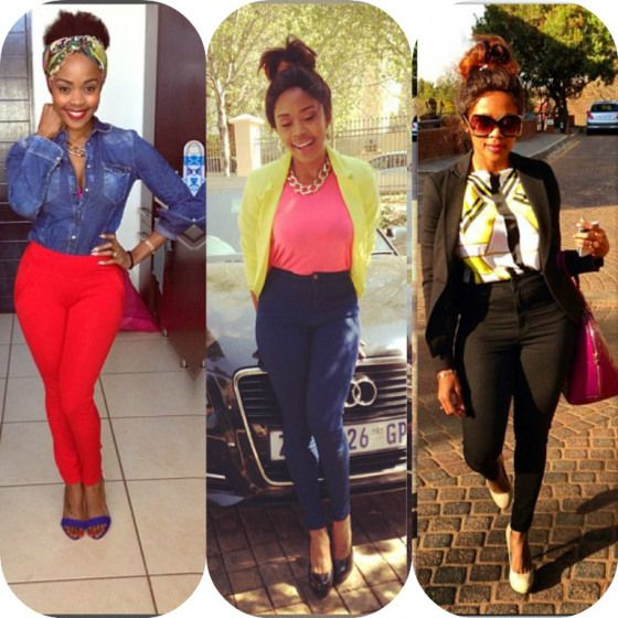 Thembi Seete. This lady though. My role model