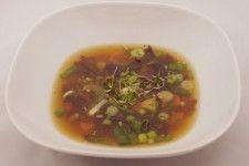 miso polévka s wakame