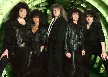 Saxon band 1987