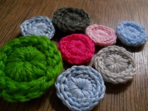 TIMELESS Crochet Button - tutorial