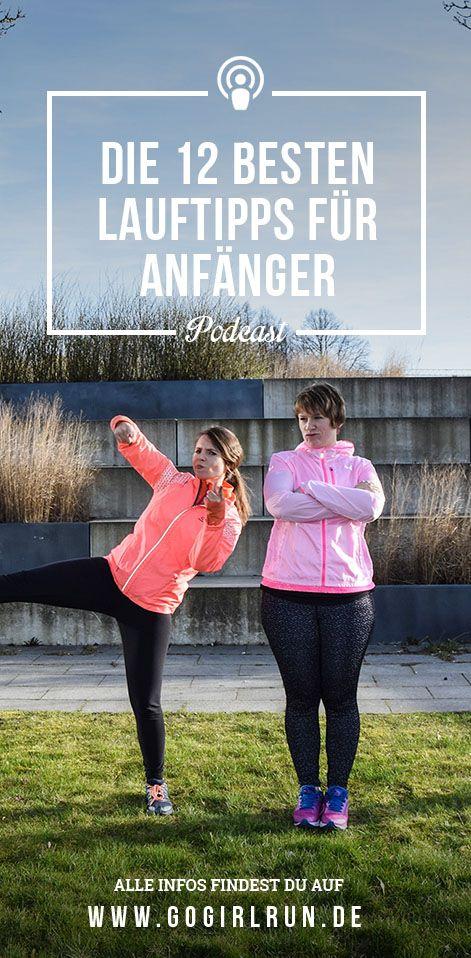 Laufen für Laufanfänger. Mit diesen 12 Lauftipps gelingt Dir der erfolgreiche Einstieg ins Lauftraining und Joggen. So macht Laufen Spaß und Du bleibst dran. #laufen #anfänger #joggen #trainingsplan #abnehmen