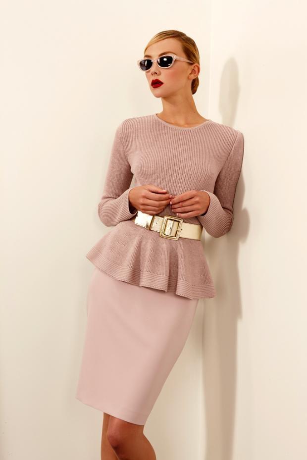 Dusty pink St. JohnPeplum Tops, Style, St John, Dresses, John Resorts, Dusty Pink, Resorts 2013, Pencil Skirts, Resorts Fashion