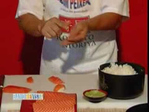 Como Fazer Sushi   Panelaterapia