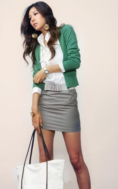 Business Casual Skirt 25