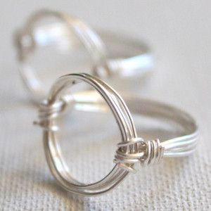 Wire Wrapped Circle Ring Tutorial and many other videos for making wire