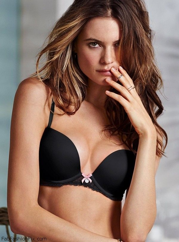Behati Prinsloo for Victoria's Secret lingerie
