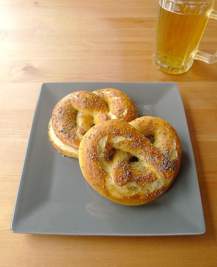 Bretzels moelleux. Petite recette alsacienne aujourd'hui : le bretzel. Ce petit…