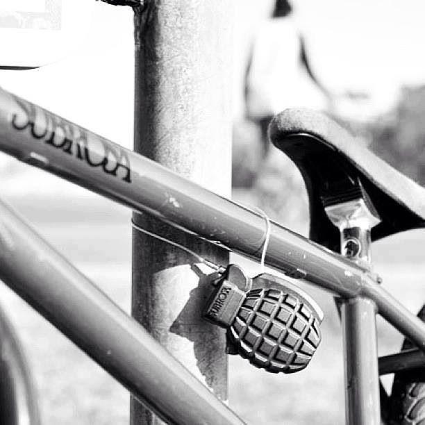 Klau mich doch! Optik überzeugt Fahrraddiebe...