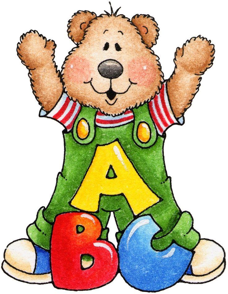 oso con letras