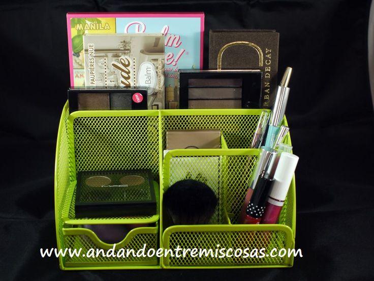 Organizador de escritorio para maquillaje organizaci n - Organizador escritorio ...