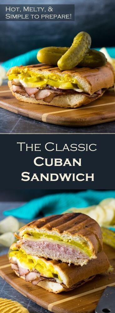 The Classic Cuban Sandwich recipe via @foxvalleyfoodie