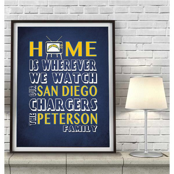 San Diego Chargers Home Decor Home Decor