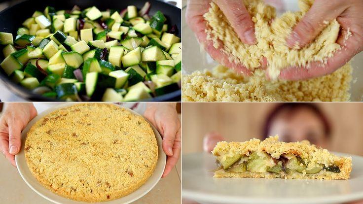 SBRICIOLATA DI ZUCCHINE Ricetta Facile - Savory Zucchini Crumble Easy Re...