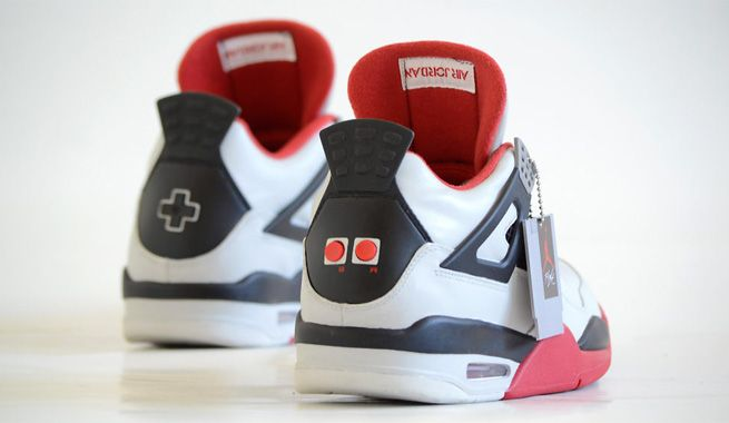 NES-Themed Retro Air Jordans Look Great, But You May Need To Be Jordan To Afford Them. you may need Michael Jordan's bank account to afford them – these babies go for a slightly-crazy $1,250. Game Over, man.