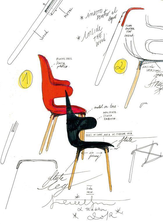 Jaime Hayon's design sketches