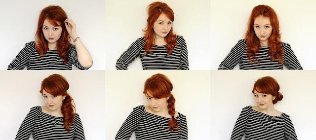 Six easy-peasy hairstyles
