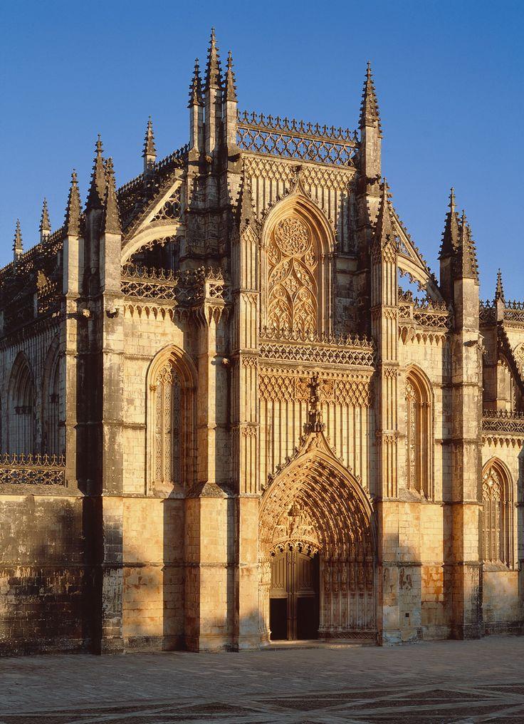Mosteiro da Batalha, Portugal. Uma referência do estilo gótico.
