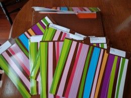 Have everything for the PTA meeting organized into labeled folders.