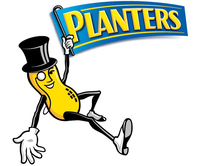 Planters peanuts (and other nuts, too)  - They have started doing lots more creative flavors, most of which are really delicious!           -          http://www.planters.com/