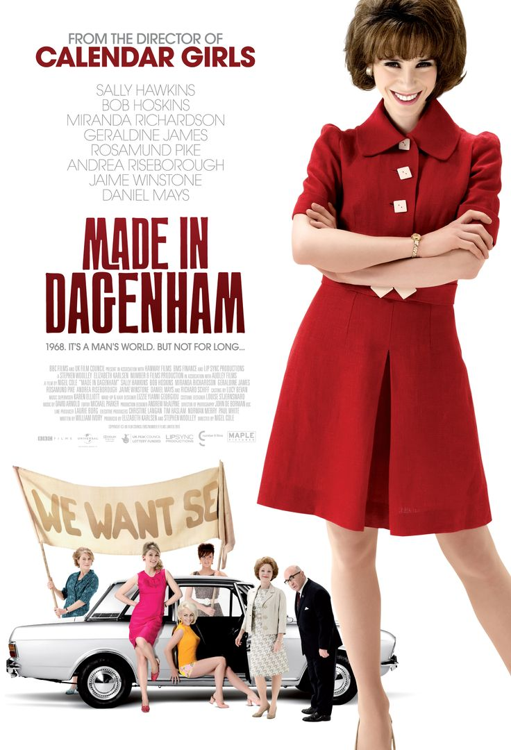 Made in Dagenham (2010). Saw this last weekend.  A must for women but just an excellent story.