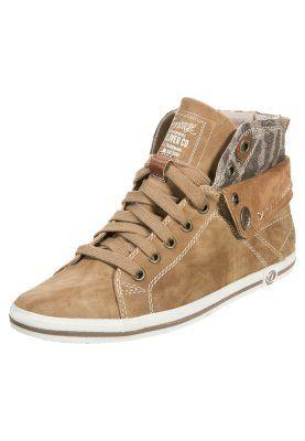 Zapatillas altas - camel