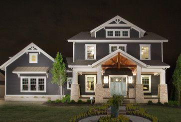Jerome Village Lot 125 - craftsman - Exterior - Columbus - Romanelli & Hughes Custom Home Builders