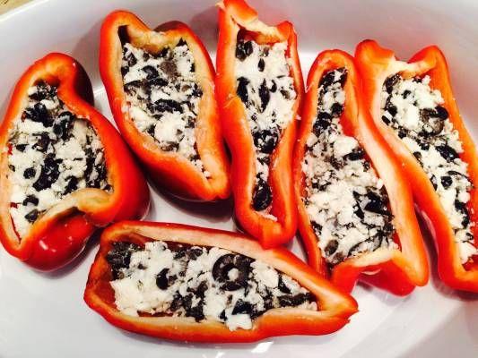 fylte paprika, superdigg, enkelt, smakfullt,