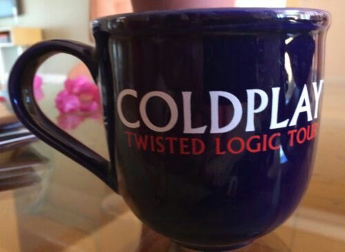 Coldplay X&Y- Twisted Logic Tour cup.