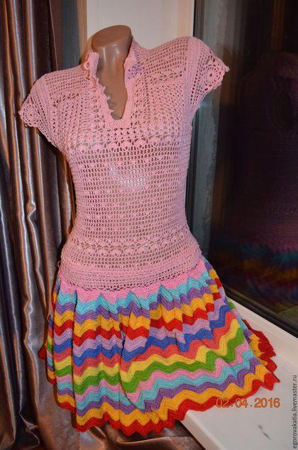 Купить или заказать Платье 'РАДУГА' в интернет-магазине на Ярмарке Мастеров. Платье 'РАДУГА' Легкое летнее платье из 100% хлопка. Модная расцветка, которая принесет яркие краски в будний день. ----------------------------------------------------------------------- Уважаемые заказчики, Вы всегда будете в курсе новинок и акций моего магазина, нажав на кнопку 'Добавить в круг' ( слева на панели…
