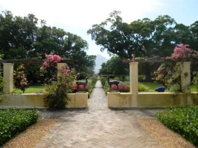 Vergelegen wine estate in Somerset West has 17 - yes - 17 impressive gardens