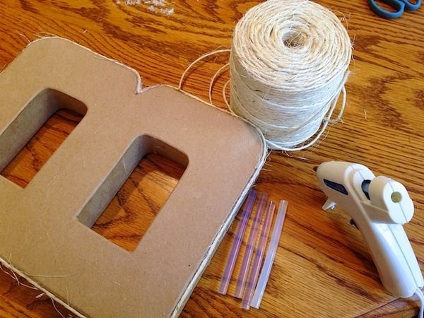 87 best images about diy wall letters on pinterest for Homemade wall letters