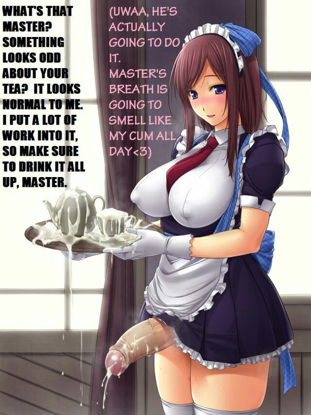 anime futanari tits captions Huge
