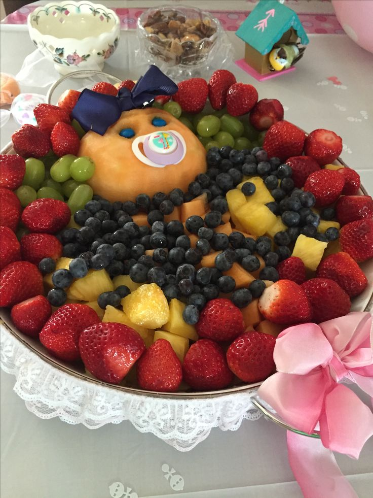 How To Make Fruit Arrangements For Baby Shower | www ...