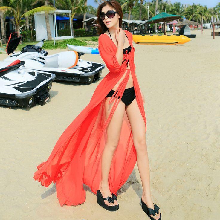 Wholesale Product Snapshot Product name is Новый 2015 мода женщины прикрыть отдыха плавки платья сексуальная лето белый шифон vestido бикини купальники макси длинные платья