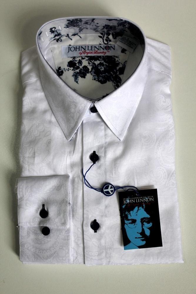 english laundry - John Lennon She Loves You Shirt White