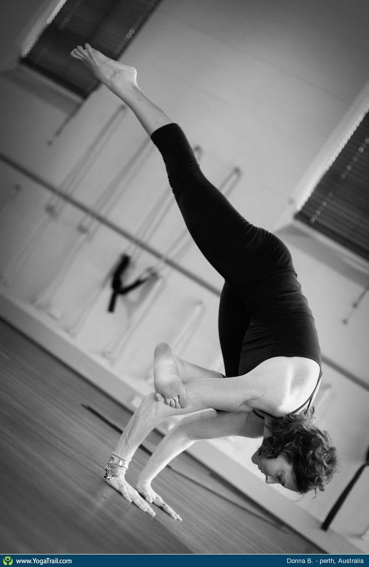 "#Yoga Poses Around the World: ""Donna B., Perth, Australia"""