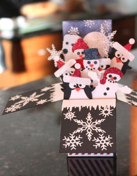 Winter Friends by hummrs1 - Cards and Paper Crafts at Splitcoaststampers